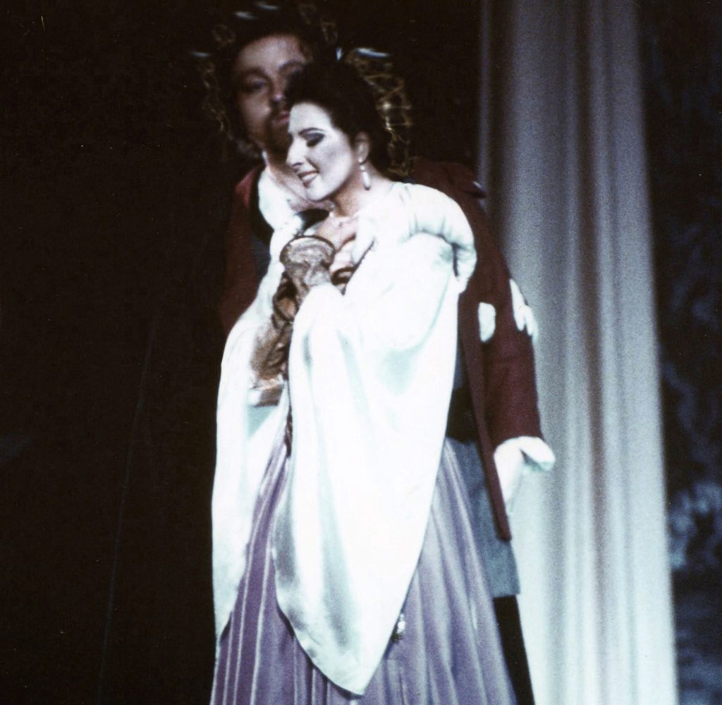 Lucia Aliberti with the tenor Chris Merritt⚘on stage⚘Opera⚘_Guglielmo Tell_⚘ copia