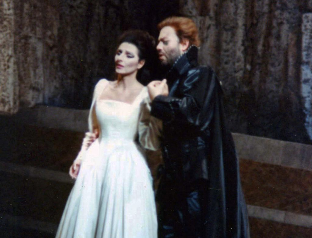 Lucia Aliberti with the tenor William Matteuzzi⚘Opera⚘_I Puritani_⚘Opéra Municipal de Marseille⚘Marseille⚘ copia